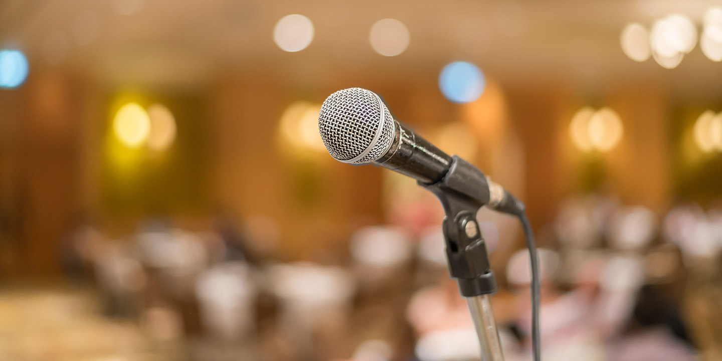 Taking your place in the world - a holistic approach to public speaking.