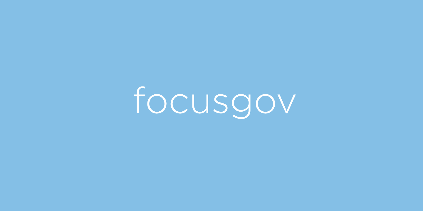 focusgov are hiring!