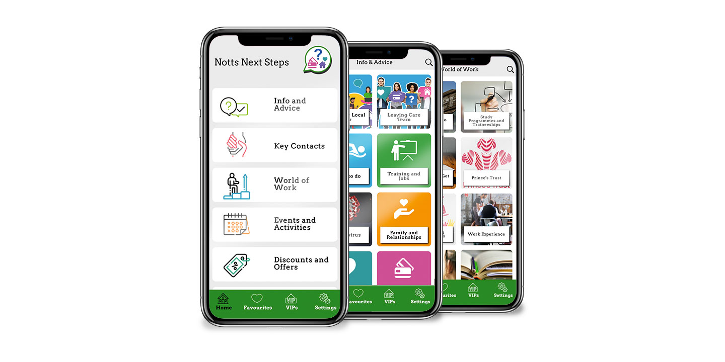 Next Steps App launched for Nottinghamshire County Council